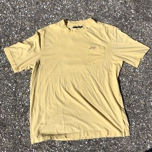 Yellow Greg Norman t-shirt